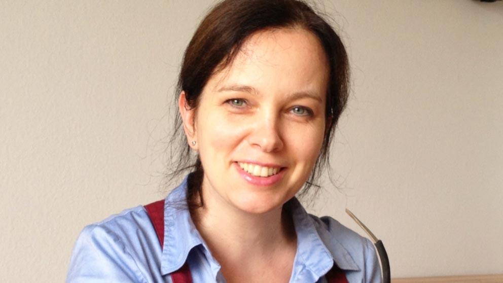 Geigenbaumeisterin Eva Lämmle München